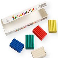 Пластилин детский «Gearsy Art», набор из 5 цветов