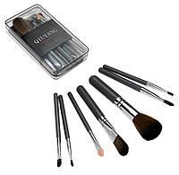 🔝 Базовые кисти для макияжа 7 шт (пластиковый кейс, Серый) набор кистей (кисточек) пензлі для макіяжу | 🎁%🚚, фото 1