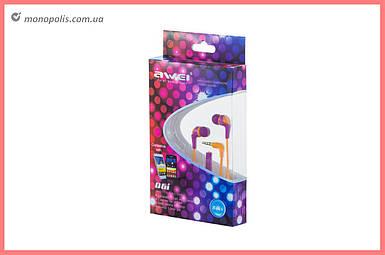 Наушники Awei - Q6i Purple