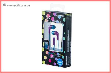 Наушники Awei - Q7i Purple