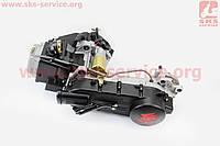 Двигатель скутерный в сборе 150куб (длинный вариатор) ВЕЛОТОП