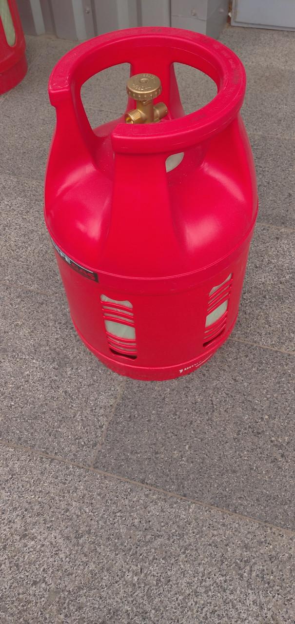 Баллоны газовые SAFEGAS композитные 18л