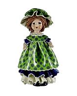 Статуэтка Zampiva Девочка в зеленом платье