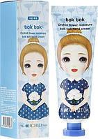 Orchid Flower Moisture Tok Tok Hand Cream - Увлажняющий крем для очень сухой кожи рук