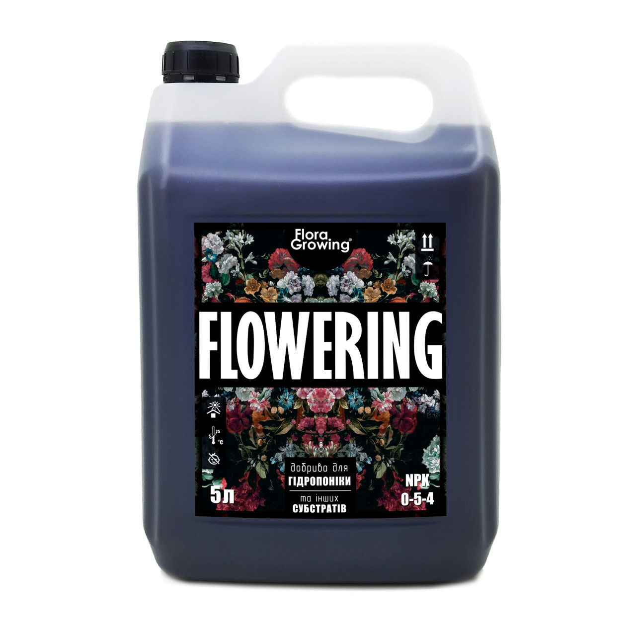 5 л Flowering - Стимулятор цветения для гидропоники и почвы аналог Ripen