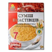 """Пластівці Суміш 7-злаків """"Терра""""  0,8кг"""