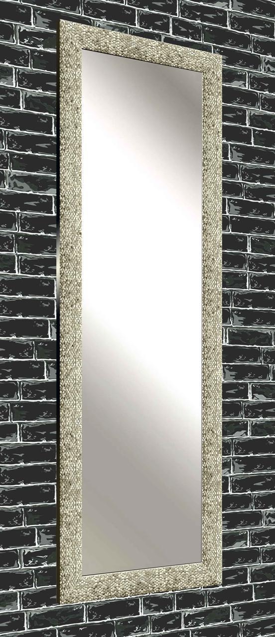 Зеркало настенное в раме Factura Steel beehive 60х174 см стальное