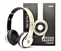 Беспроводные наушники Beats Solo HD S460 Bluetooth Silver с MP3 плеером Серебристый реплика