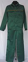 Костюм рабочий «Мастер» (штаны+куртка), зеленый.