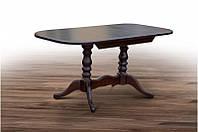 Стіл обідній  ШЕРВУД  розкладний 120 Микс мебель,  темний горіх