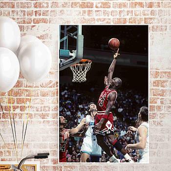 Постер плакат SKOVORODA серия спорт Майкл Джордан  61x90 см