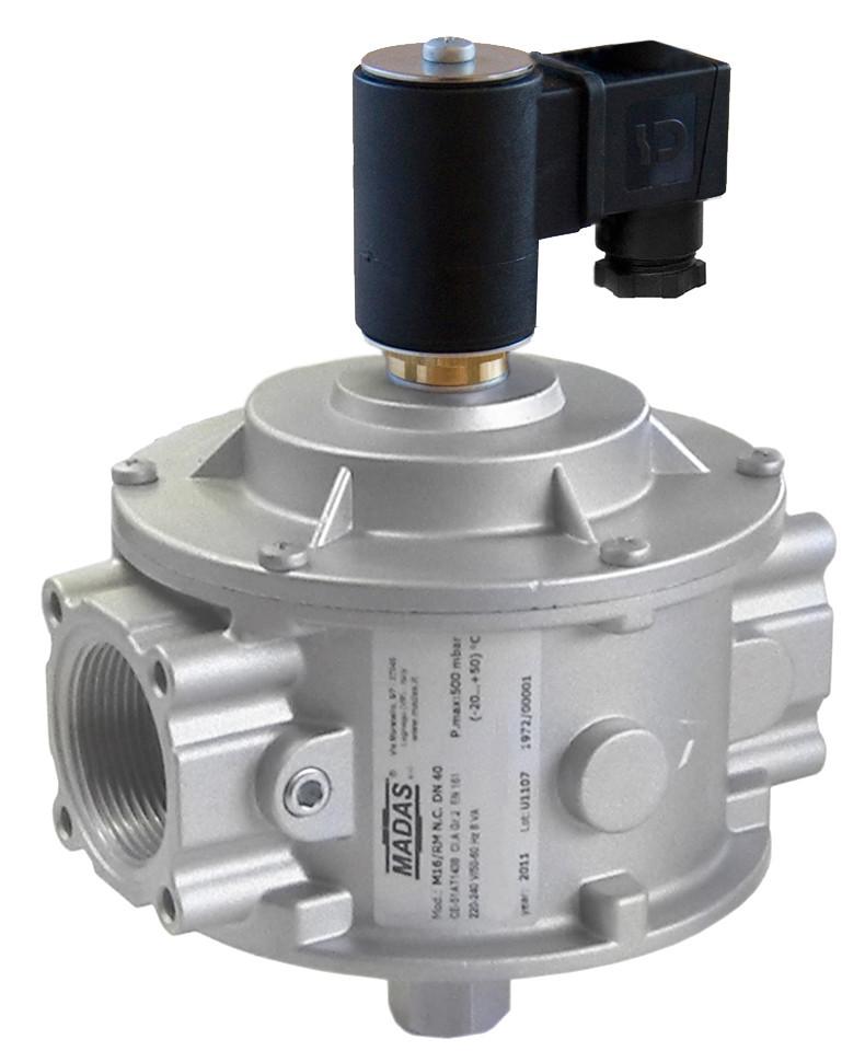 Электромагнитный клапан M16/RM N.C., DN32, 6 bar (MADAS)
