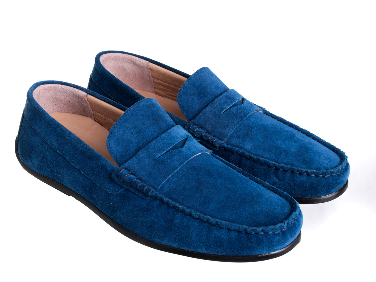 Мокасины Etor 16082-549-142 45 синие