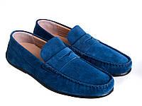 Мокасины Etor 16082-549-142 45 синие, фото 1