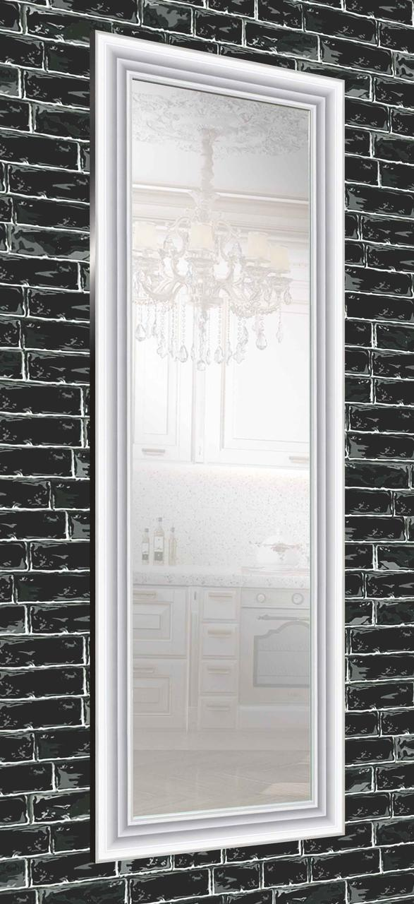 Зеркало настенное в раме Factura White glossy 60х173 см белый
