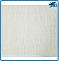 Полотенце махровое для ног молочное (Турция) 50х70