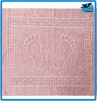Полотенце махровое для ног лиловое (Турция) 50х70
