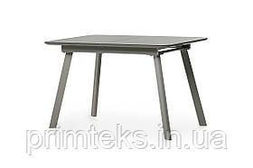Стол МДФ+матовое стекло TM-170 серый