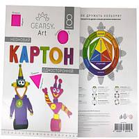 Цветной неоновый картон «Gearsy Art» А4 (8 листов)