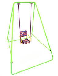 Уличные металлические детские качели «Take&Ride baby swing» Складная в сумке ( 4 цвета) салатовый