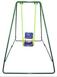 Уличные металлические детские качели «Take&Ride baby swing» Складная в сумке ( 4 цвета) зеленый