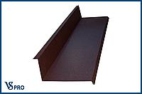 Примыкание металлическое для кровли 70*140 мм, длина 2000 мм.