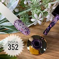 Divia Гель-лак для нігтів Brilliant Di300 №352 (Каскад Іскр)