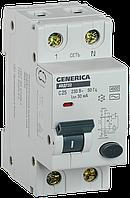 Автоматический выключатель дифференциального тока АВДТ32 C25 GENERICA