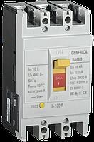 Выключатель автоматический ВА66-31 3Р 100А 18кА GENERICA
