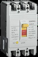 Выключатель автоматический ВА66-31 3Р 80А 18кА GENERICA