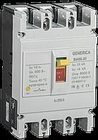 Выключатель автоматический ВА66-35 3Р 200А 25кА GENERICA