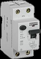 Выключатель дифференциальный (УЗО) ВД1-63 2Р 32А 30мА GENERICA
