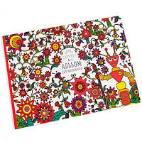 Альбом для рисования «Gearsy Art» красный 12 листов