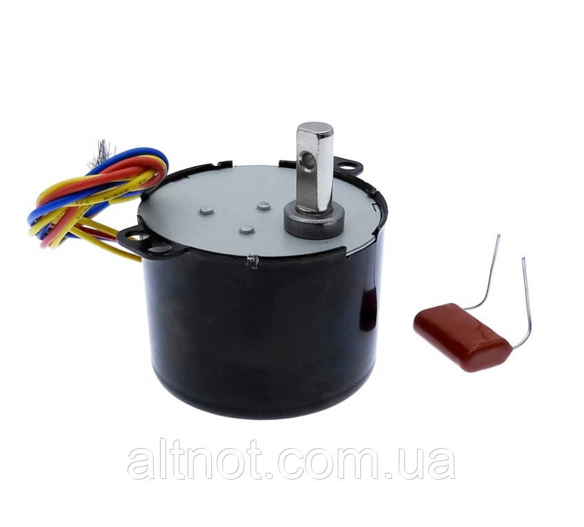 Електродвигун 2,5 об/хв. 220В. 6,5 Вт. KTYZ-50 . реверсивний.
