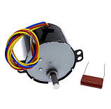 Электромотор 2,5 об/мин. 220В. 6,5 Вт. KTYZ-50 . реверсивный., фото 3