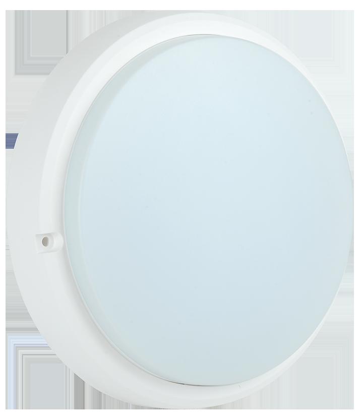 Светильник светодиодный ДПО 4005 8Вт 6500K IP54 круг белый IEK