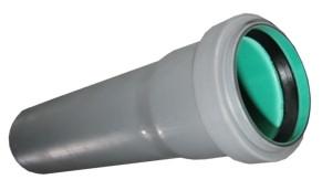 Труба 50/1000 зеленая   канализационная (трехслойная)  СВК