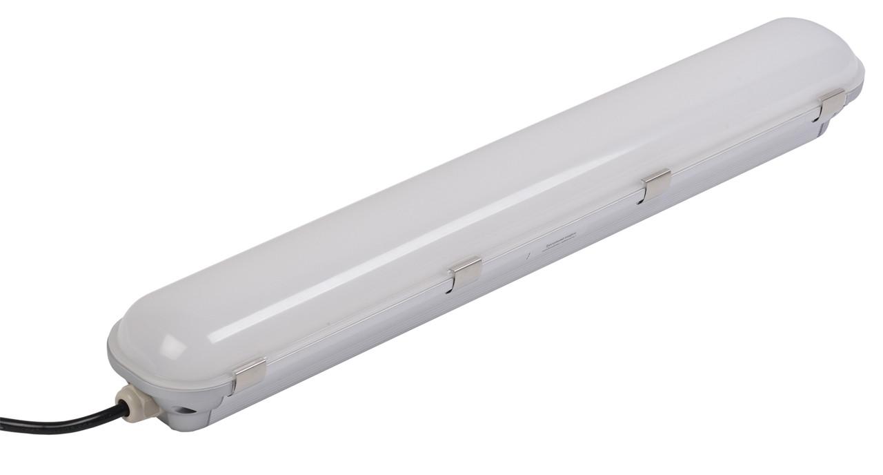 Світильник світлодіодний ДСП 1401 40Вт IP65 сріблястий (аналог ЛСП-2х36Вт) IEK