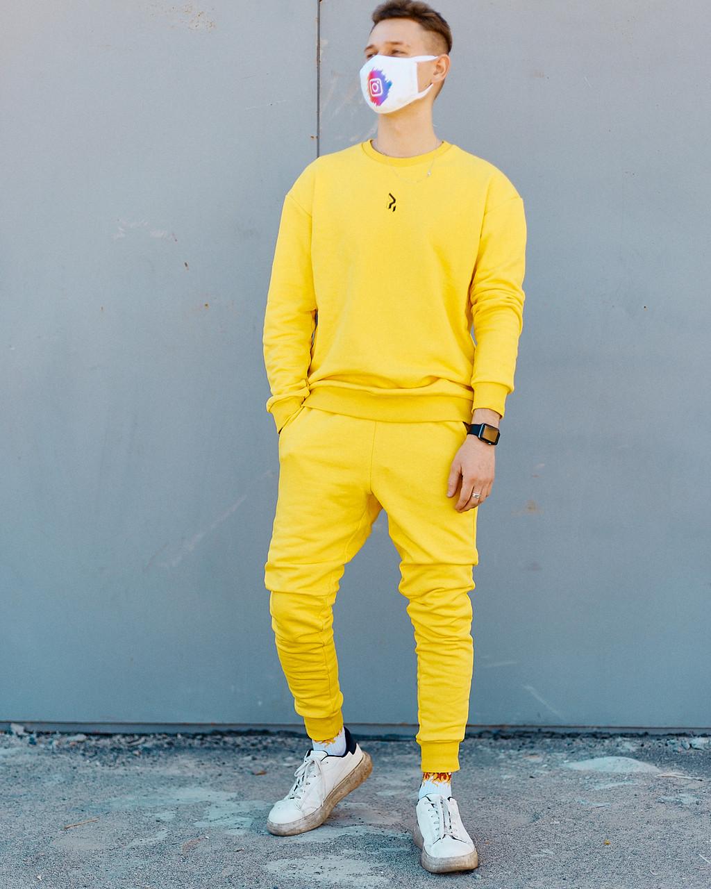 Спортивний костюм Пушка Огонь Mate Жовтий