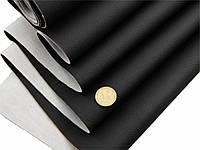 Биэластик, кожзам тягучий черный текстурирований для перетяжки салона авто bl-9