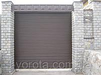 Ворота рулонные вьездные (стальной профиль 76) ТМ HARDWICK (Хардвик) 2500*2500, фото 3
