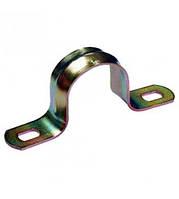 Скоба металлическая двухлапковая IEK Ø10-11мм