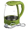 Электрочайник DOMOTEC MS-8212 зеленый | электрический чайник