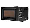 Микроволновая печь GRUNHELM 20MX701-B черная| микроволновка | СВЧ печь, фото 2