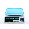 Электронные торговые весы Domotec ACS 50кг/5г MS 228 6V со счетчиком цены