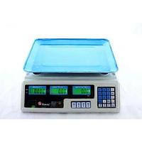 Электронные торговые весы Domotec ACS 50кг/5г MS 228 6V со счетчиком цены, фото 1