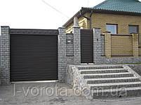 Ворота вьездные рулонные  (стальной профиль 76) ТМ HARDWICK (Хардвик) 2300 на 2600, фото 2
