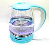 Электрочайник DOMOTEC MS-8214 голубой | электрический чайник, фото 3