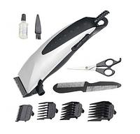 Профессиональная машинка для стрижки волос Domotec MS 3305 с насадками, фото 1