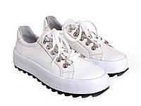 Кроссовки Etor 7132-227 39 белые, фото 1